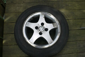 VW rims + almost new tires 14 Inch