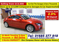 2013 - 63 - AUDI TT SPORT 1.8TFSI PETROL 3 DOOR COUPE (GUIDE PRICE)