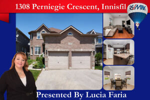 OPEN HOUSE SAT 12-2 - INNISFIL 3+1 BEDS/BATHS- MOVE IN READY