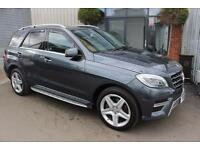 Mercedes ML350 BLUETEC AMG LINE-WITH SIDE-STEPS