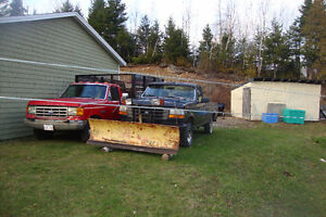 Plow  for sale/with free 1994 Ford F-150