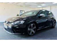 2015 VOLKSWAGEN GOLF R + FULL LEATHER + NEW SERVICE & MOT + HATCHBACK PETROL
