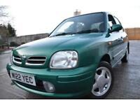 NISSAN MICRA SE 1.3 AUTOMATIC 5 DOOR*LOW MILEAGE*2 LADY OWNERS*FULL HISTORY*