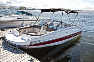 2015 Bayliner 195 Deck Boat - Used less than 10hrs