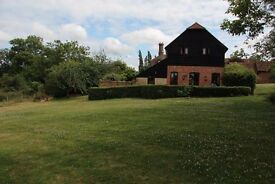 AVAILABLE 3/4 Bed Stunning Oast House with Annexe - Terrace, Large Garden,Views, Pond. Walk to Train