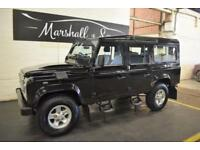 2012 12 LAND ROVER DEFENDER 110 2.2 TD COUNTY STATION WAGON 1D 122 BHP 7 SEATS D