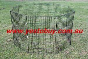 24' 8 Panel Pet Dog Playpen rabbit Cage Puppy Crate Enclosure Oakleigh Monash Area Preview