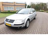 2002 Volkswagen Passat Estate 2.0 SE Left hand drive Lhd UK registered