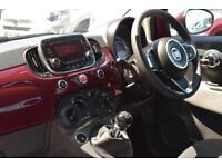 2016 Fiat 500 1.2 Pop Star (s/s) 3dr Petrol red Manual