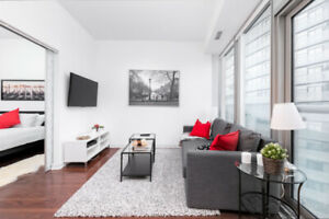 Cozy furnished condo downtown for rent