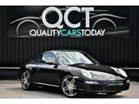 2008 Porsche 911 3.6 ( 997 ) Carrera 2 Manual *Basalt Black + Turbo Wheels*
