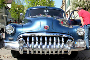 1950 Buick front bumper & grill