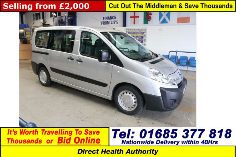 2009-59-CITROEN DISPATCH 1.6HDI 90PS 5SEAT DISABLED ACCESS