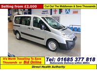 2009-59-CITROEN DISPATCH 1.6HDI 90PS 5SEAT DISABLED ACCESS MINIBUS (GUIDE PRICE)