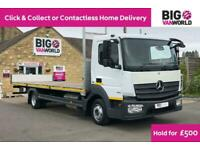 2014 MERCEDES ATEGO 816 EURO 6 7.5TON HGV 24FT FLATBED TRUCK LORRY TRUCK DIESEL