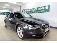 Audi A4 S Line 2.0 TDI 143 Auto [2X AUDI SERVICES, SAT NAV and LEATHER]