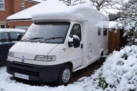 CI Cipro 2 Coachbuilt Motorhome for Sale U Shaped Lounge 3200kg 2 Berth