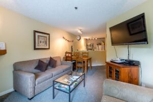 Updated 1 Bdrm showcasing beautiful views of Whistler mountains!