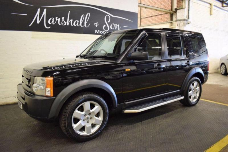 2007 07 LAND ROVER DISCOVERY 3 2.7 3 TDV6 GS 5D AUTO 188 BHP 7 SEATS DIESEL