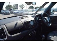 2014 Fiat 500L 1.4 Lounge 5dr Petrol black Manual