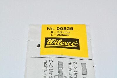 Wilesco Z825 Antriebspiralen Spirale 5 Stück Set je 260 x 2,5mm NEU in OVP