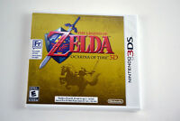 Not opened - The Legend of Zelda: Ocarina of Time 3DS