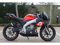 APRILIA TUONO 125 LEARNER LEGAL 125 CC NAKED ROADSTER APRILIA TUONO OFFER