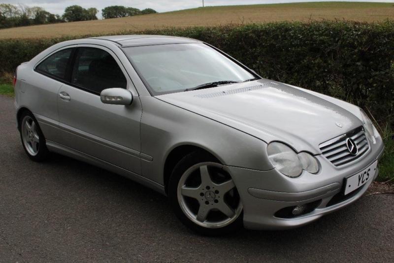 2002 Mercedes-Benz C Class 2.0 C200 Kompressor Sport 2dr