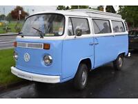 Volkswagen VW Transporter T2 Bay Window New Doors all round Towbar Toilet