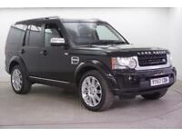 2012 Land Rover Discovery SDV6 HSE LUXURY Diesel black Automatic