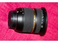 Tamron 10-24 SP11 DI lens Nikon fit
