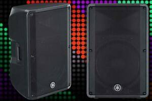 2 x Yamaha DBR15 (2 x 1000w Speakers) $100/night Perth Perth City Area Preview