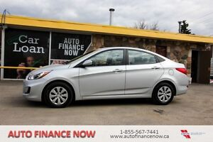 2015 Hyundai Accent LOW KMS  OWN ME FOR ONLY $72.38 BIWEEKLY!