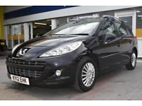 BAD CREDIT CAR FINANCE AVAILABLE 2012 12 PEUGEOT 207 SW 1.6HDi ACTIVE