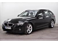 2013 BMW 3 Series 320D M SPORT TOURING Diesel black Automatic