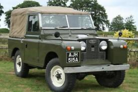 """Land Rover Series 2 88"""" 2.25 Petrol Soft Top"""