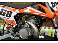 2016 KTM SX 50 MOTOCROSS BIKE IDEAL LEANER BIKE, NEW GRIPS