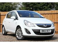Vauxhall Corsa 1.4i 16v 100ps A/C SE Automatic Petrol 5 Door Hatchback in White
