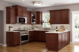 ***SOLID WOOD KITCHEN CABINETS at HALF PRICE***