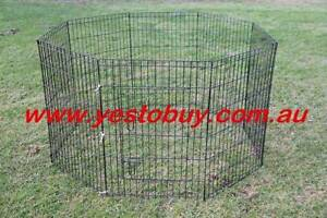 36' 92cmH 8panel Dog Playpen penCage Crate Enclosure Rabbit Mordialloc Kingston Area Preview