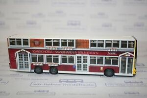 Rietze, 67743, MAN DL Lions City, BVG Bus, Scandic Hotels, neu, OVP