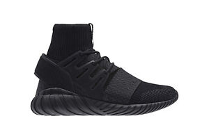 Adidas Tubular Primeknit (PK) Doom in Triple Black SIZE 8 US