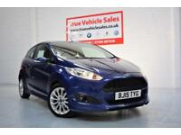 Ford Fiesta 1.0 125 Bhp EcoBoost 3 Door Zetec S - LOW RATE PCP £139 PER MONTH