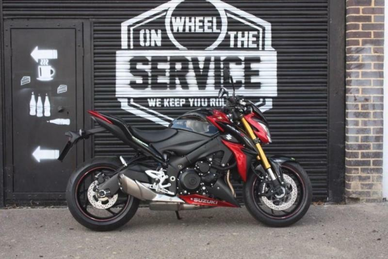 2016 SUZUKI GSX-S1000 RED/BLACK, BRAND NEW!