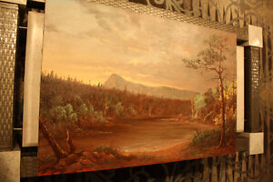 Nature painting canvas art