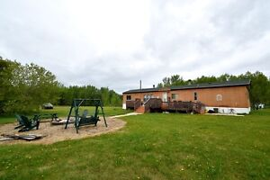 4 acre lot with mobile at Skeleton Lake FOR SALE!