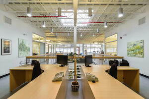 Bright Modern Office Space on 124 Street