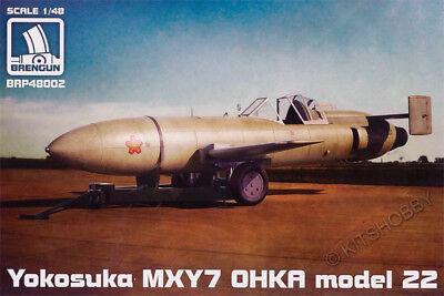 Brengun Models 1/48 Yokosuka MXY7 OHKA Model 22 Model Kit for sale  Shipping to South Africa