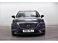 2015 Mazda 6 D SPORT NAV Diesel grey Manual