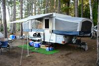 Tente Roulotte 2008 Fleetwood Cheyenne Tent Trailer pop up